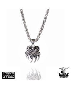 Northern Viking Jewelry Karhunkäpälä -kaulakoru NVJRS047