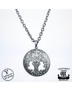 Northern Viking Jewelry Tree of Life -riipus NVJ-H-RS026