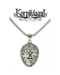 Northern Viking Jewelry Korpiklaani Shaman Drum -kaulakoru NVJRS063