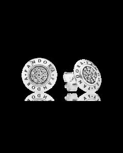 Pandora Hoop Logo -korvakorut 290559CZ