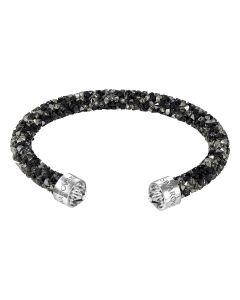 Swarovski Crystaldust -rannekoru M (musta/kirkas) 5250065