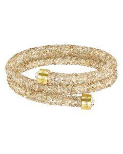 Swarovski Crystaldust -rannekoru S (kulta) 5255907