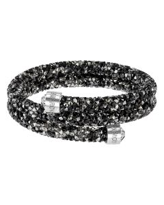 Swarovski Crystaldust -rannekoru S (musta/kirkas) 5255909