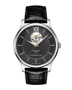 Tissot T-Classic Tradition Powermatic 80 Open Heart T063.907.16.058.00