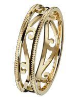 Kohinoor Laurel -kultasormus 013-253